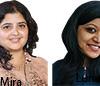 Mira Dhakal and Luna Bhattarai