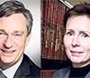 Olivier Adam and Valerie Julliand