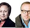 Shirin Ebadi and Christophe Deloire