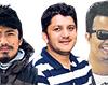 Rajaram Prajapati, Bhesh Raj Thapa and Rocky Talchabhadel