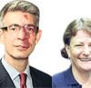 Richard Morris and Gail Marzetti