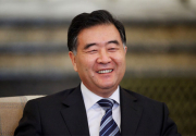 Chinese Vice-Premier Wang returns home