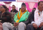 Deuba stresses on holding polls to implement constitution