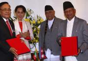 Nepal, Myanmar sign trade agreement