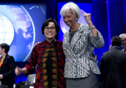 Global finance leaders grapple with globalization fears