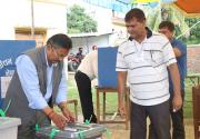 4 elderly die at polling centers