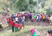 2 dead, 25 injured in Dhading bus accident