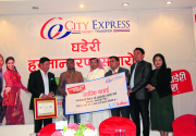Sandilip Kumar Mahato wins land plot from City Express