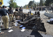 Suicide car bomb in southwest Pakistan kills 11, wounds 20
