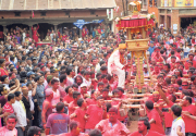 Vibrant Jyaa Punhi Jatra (photo feature)