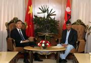 Chinese DPM calls on PM Deuba; President Xi urged to visit Nepal