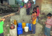 Bajhang Locals forced to drink dirty river water