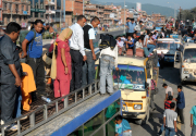 Number of people leaving valley for Dashain on the rise
