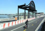 Futuristic NY pier project pits billionaire vs billionaire
