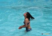 Kathmanduites take to swimming to beat the heat