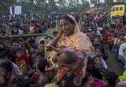 Rights group accuses Myanmar of crimes against humanity