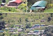Colorful houses rising in quake-ravaged villages
