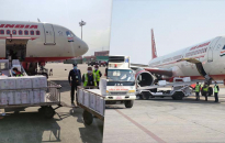 One million doses of govt-purchased Covishield vaccine arrives in Nepal from India (with photos)