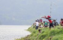 PHOTOS: Fishing craze in Pokhara