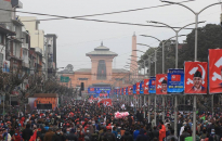 PM Oli-led NCP organizes mass gathering in Kathmandu (photos and video)