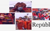 PHOTOS: Female devotees throng Pashupatinath on occasion of Teej