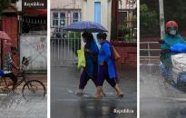 PHOTOS: Monsoon developing, arriving !
