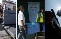PHOTOS: COVID-19 vaccines distribution in Kathmandu Valley