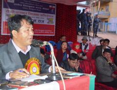 We keep fighting until Limbuwan State is established: Lingden