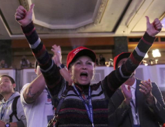 Trump's surprise wins in crucial U.S. states rattle world markets