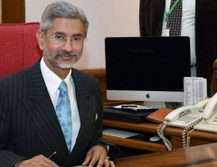 Indian Foreign Secretary S Jaishankar given one year extension ofservice