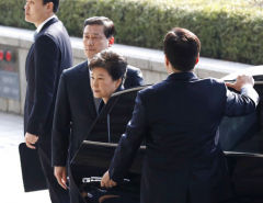 S. Korea's Park says 'sorry' as she undergoes questioning