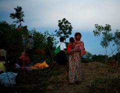 Bangladesh warns Myanmar over border amid refugee crisis