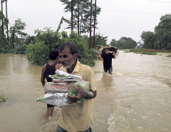 An inundated nation