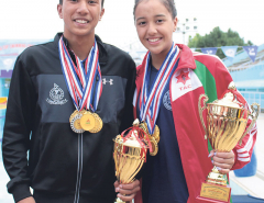 Singh, Shrestha set new nat'l records