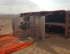 6 tourists injured in hot-air balloon crash in UAE desert