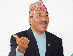 Participating in Dahal-led government a blunder : Thapa