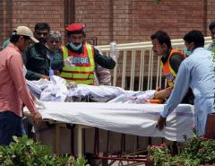 Overturned oil tanker explodes in Pakistan, killing 153