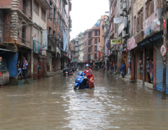 Inundated Gabahal  (Photo feature)