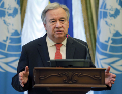 UN chief urges protection for civilians trapped in conflict