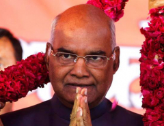 Ram Nath Kovind elected as 14th Prez of India