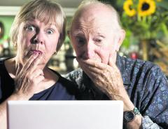 Old folks & social media