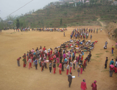 Glimpses of trainings for temporary police (photo feature)