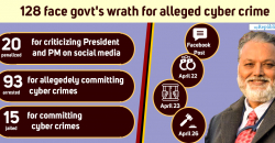 Former secy Upadhyay's arrest shows govt hell-bent on silencing critics