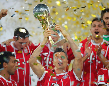 Bayern beat Dortmund on penalties to win German Super Cup