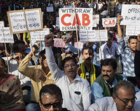 Thousands protest Indian citizenship bill excluding Muslims
