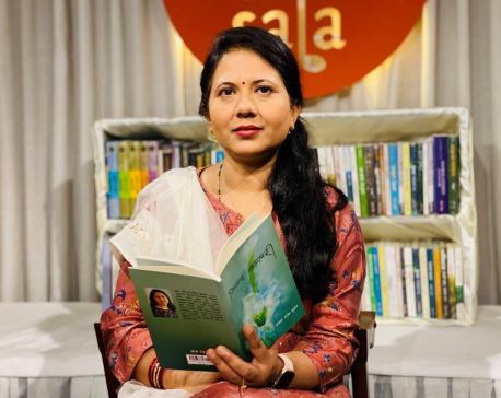 Aalaka Atreya Chudal's 'Ninada Vallari' launched