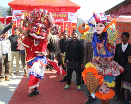 Maghe Sankranti Fair being held in Ridi; thousands throng to take holy dip (with photos)