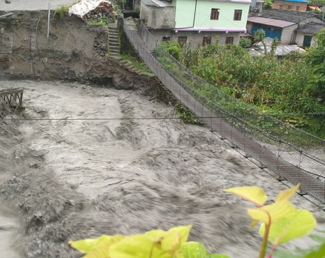 At least 11 missing in Myagdi floods