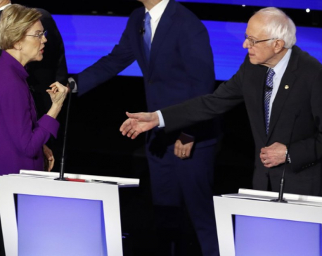Warren makes debate case: Democratic woman can beat Trump