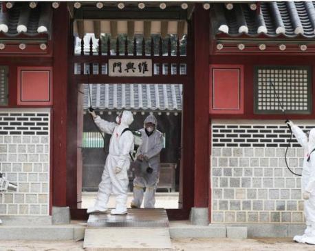 South Korea's Moon urges calm amid protests over virus quarantine sites